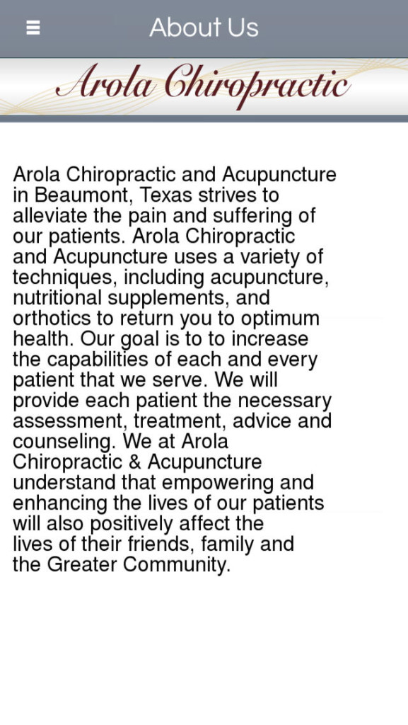 Chiropractor Southeast Texas