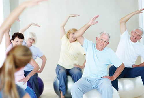 Exygon Senior Fitness Class Beaumont TX