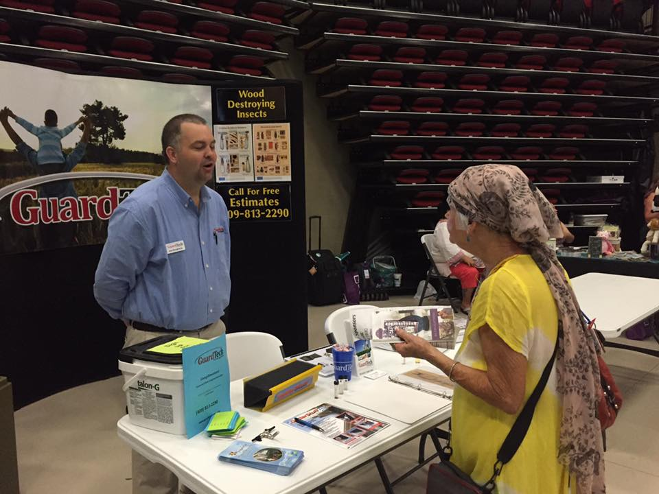 Port Arthur Senior Expo, Guard Tech Pest Control, Port Arthur Pest Control, Pest Control Lumberton TX, Nuring home pest control Beaumont TX, SETX health fair