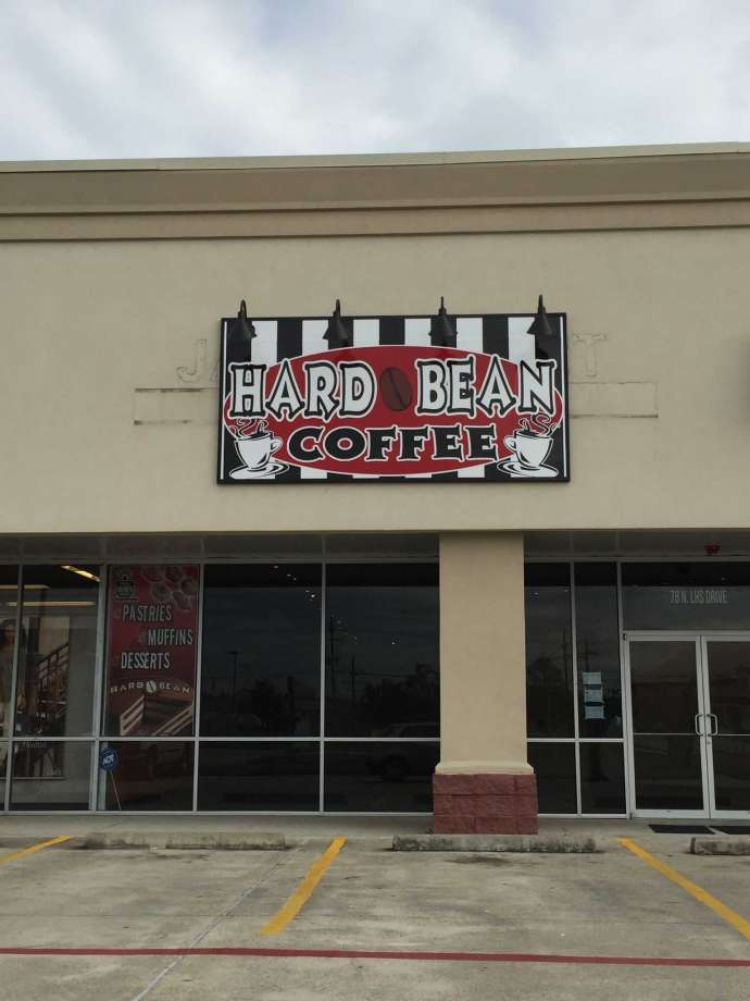 Hard Bean Lumberton TX coffee shop