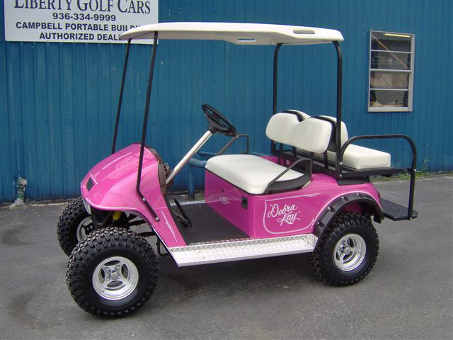 Liberty Golf Cars in Beaumont TX, Liberty Golf Cars in Beaumont, custom golf cart Beaumont, golf cart lift Beaumont Tx, custom golf cart paint job Beaumont Tx