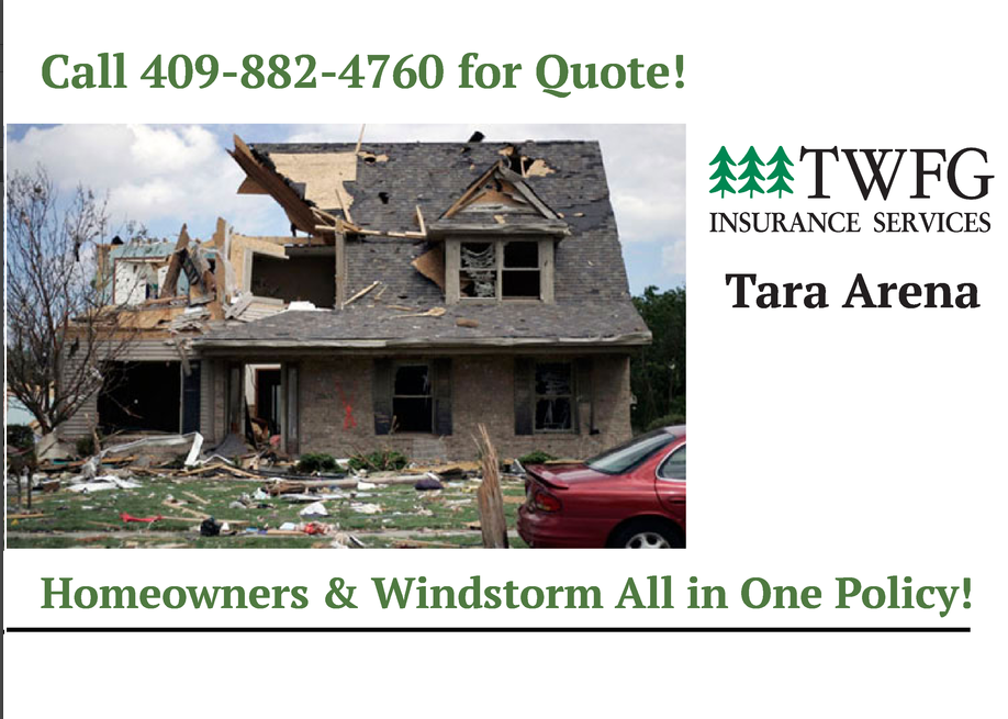 Tara Arena TWFG Wind Storm Insurance Beaumont TX, Tara Arena TWFG Insurance Golden Triangle, windstorm insurance Beaumont Tx, flood insurance Beaumont Tx, home insurance Beaumont TX, windstorm insurance Lumberton TX