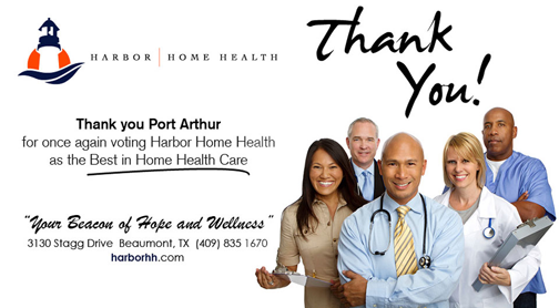 Harbor Home Health Golden Triangle TX, home health care Port Arthur, Home health care Groves Tx, home health care Port Neches
