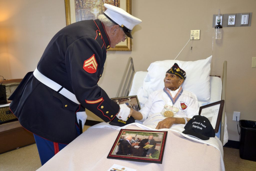 Harbor Hospice Honors Veterans