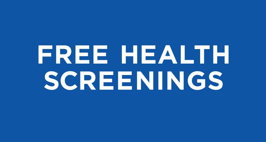 free health screening Beaumont TX, free health screening Southeast Texas, free health screening Houston, free health screening Mid County, health fair Houston, health fair Port Arthur, health fair Lumberton TX