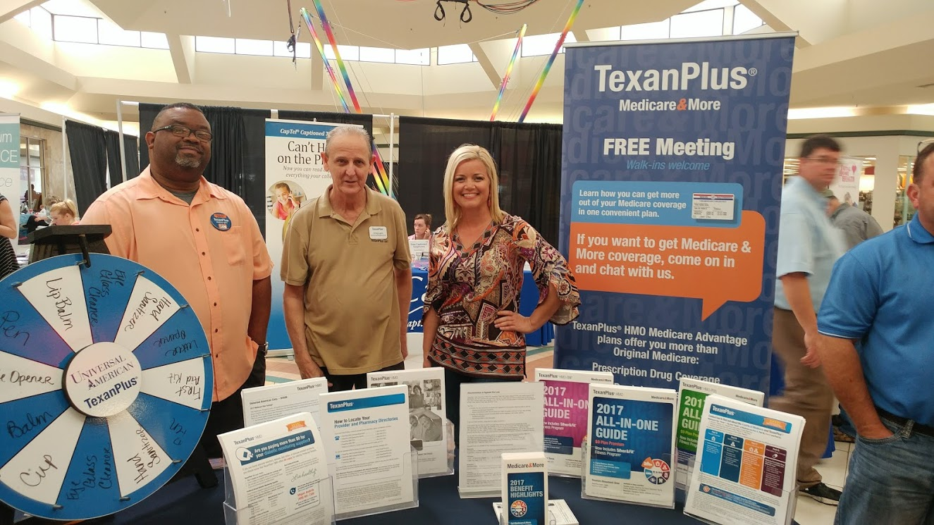 Lumberton Senior Expo Vendors – Texan Plus, SETX Medicare Advantage Plans