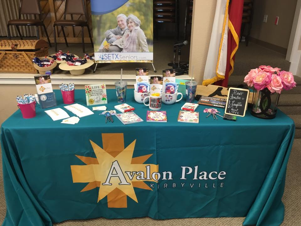 Senior Living Facilities Kirbyville TX – Avalon Place to be Featured at Jasper Senior Expo 11/1