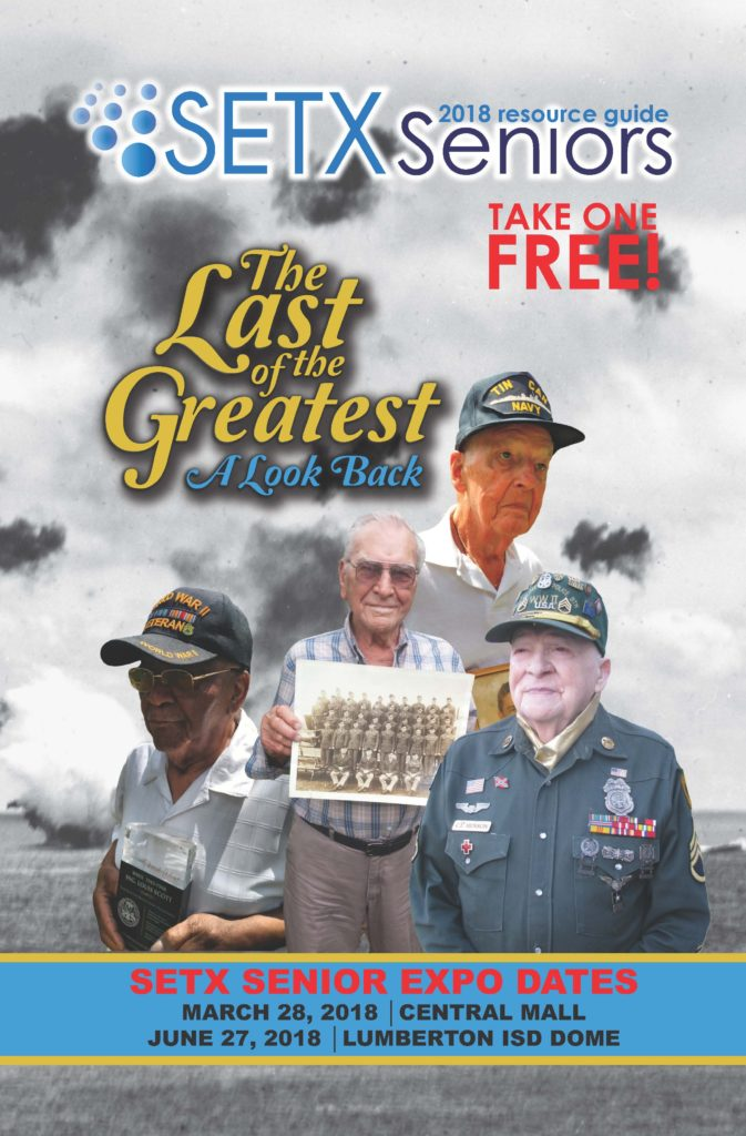 senior magazine Beaumont TX, senior magazine Port Arthur, East Texas senior news, Golden Triangle senior newspaper, veteran news Texas, senior citizen biographies