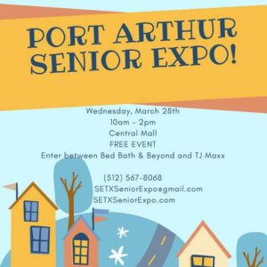 Port Arthur Senior Expo, Mid County Senior Expo, Port Arthur Health Fair, Central Mall Health Fair, Golden Triangle senior care,