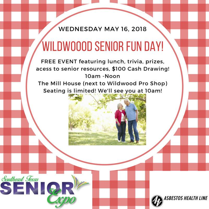 Wildwood Senior Fun Day, Senior activities Wildwood TX, senior events Big Thicket, Senior Social Village Mills TX, The Mill House Wildwood Resort City, Texas Senior Events, Texas Senior Activities