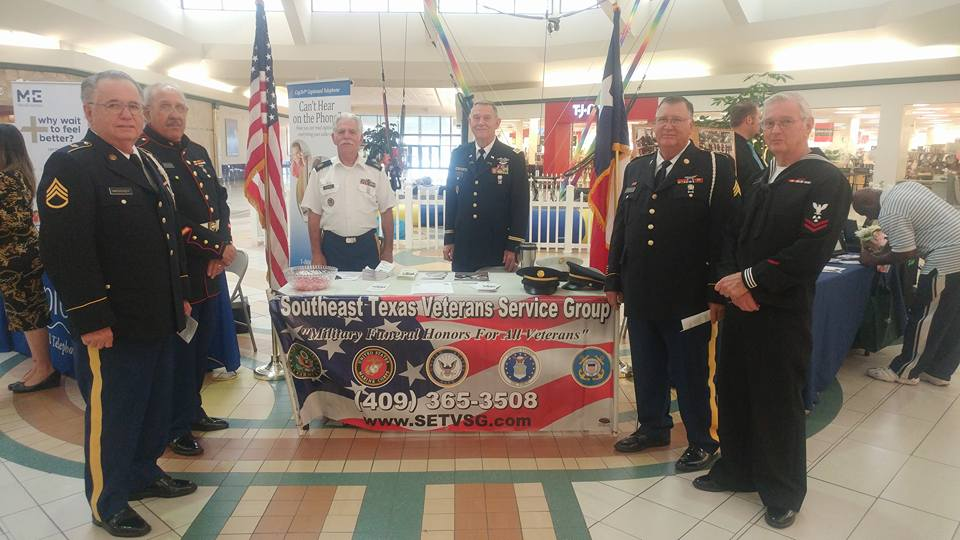 Talk with The Southeast Texas Veteran Service Group at the Mid County Senior Expo